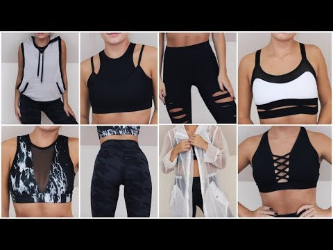 LOOK BOMB AT THE GYM - Inexpensive TRY-ON Workout Clothes Haul | Minimalist Aesthetic