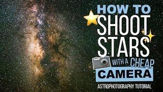 L'astrophotographie Tutoriel: Comment Photographier les ÉTOILES avec un Appareil photo pas Cher