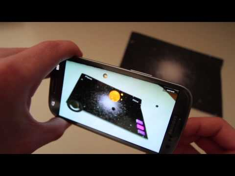 Solar System in Augmented Reality