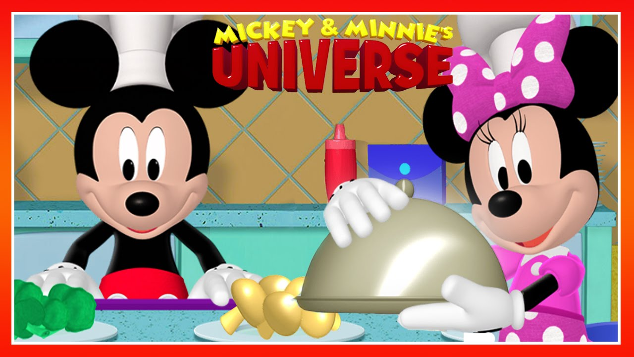 Mickey Minnie S Universe Mickey Mouse Clubhouse Cooking Game Disney Junior Games For Kids Youtube
