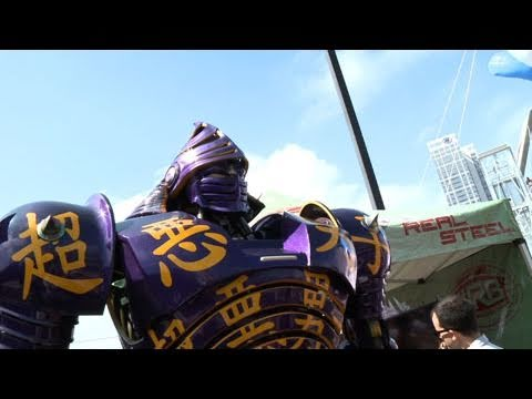 Comic-Con: 'Real Steel' Hugh Jackman HD
