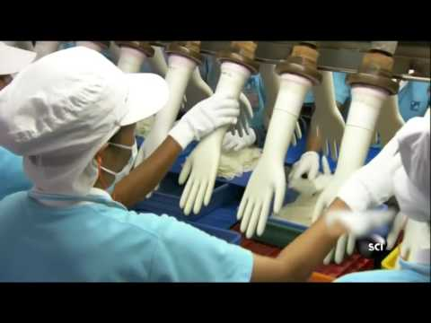 How to Made Rubber Gloves - Viet Delta company
