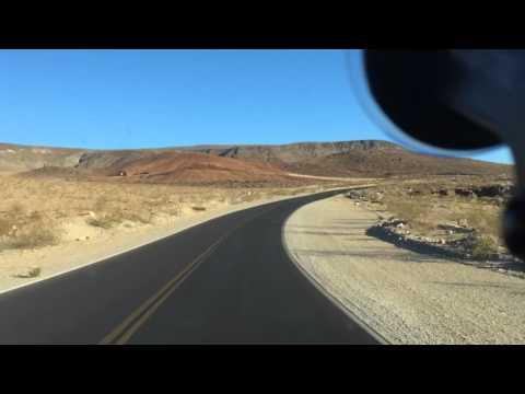 Death Valley hwy 190 hyperlapse