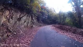 醍醐山ヒルクライム激坂区間メガソーラーまで2,017 11月