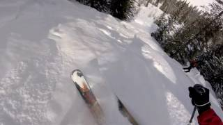 Ski CHina - Altai Snowpark Secret Garden Run 2