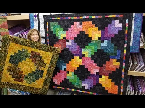 Cotton Rainbow Quilt + Bonus Border
