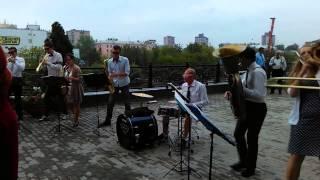 Живая музыка Иваново.Esta Brass Band на Свадьбе. Леди гада live  22 08 2014