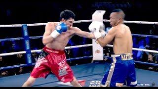 Заур Абдуллаев vs Умберто Мартинеса. Боксер из Дагестана нокаутировал Колумбийца