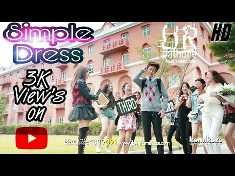 Simple Dress full video song Korean mix (Music+effect+directed+produced)by Utkarsh Rathore #muzicvox