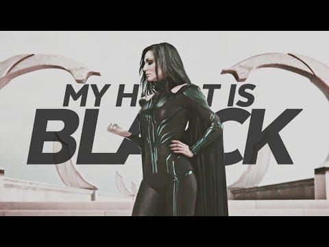 my heart is black   thor ragnarok: hela