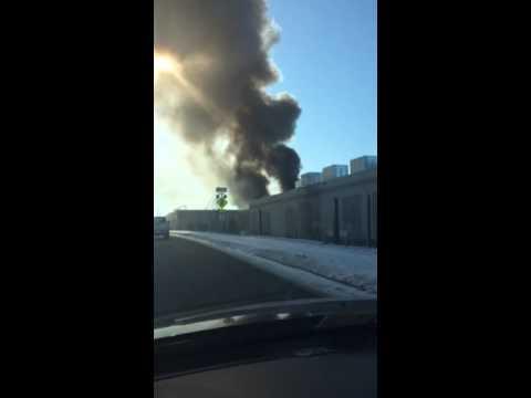 Data Center Fire in Ashburn, VA - YouTube  Data Center Fir...