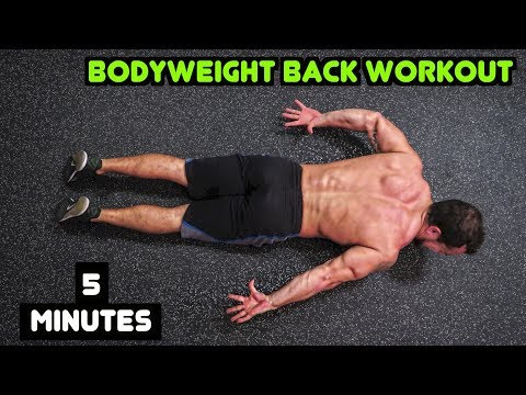 Intense 5 Minute At Home Back Workout #2