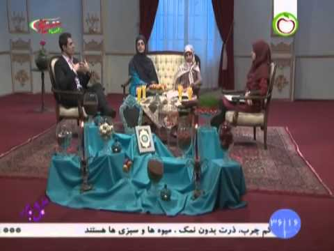 Dr. Behnam Shakibaie and his family on Iranian Health TV, March 2016