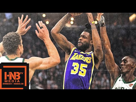 Los Angeles Lakers vs Milwaukee Bucks Full Game Highlights | March 19, 2018-19 NBA Season