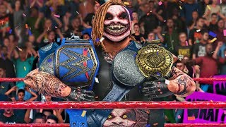 THE FIEND WYATT SNATCHES ALL THE CHAMPIONSHIP BELTS! | WWE 2K20 Universe Mods