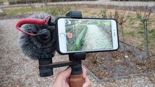 Consejos y accesorios para grabar vídeo con el teléfono móvil