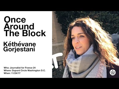 Once Around the Block with Kéthévane Gorjestani in Dupont Circle,  Washington D.C.