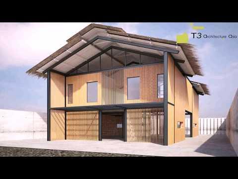 Bamboo House Design In Vietnam