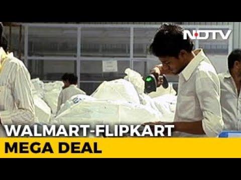 Walmart Buys 77% Stake In Flipkart For $16 Billion