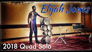Elijah Jones Quad Solo 2018 I&E  3rd Place