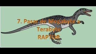 7. Raptor - Convertir de una unidad a otra (MB a TB) (Diagrama)
