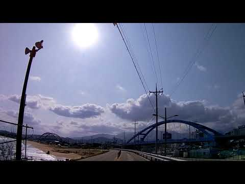 속초에서 서울로 가는 길 Driving from Sokcho to Seoul _ Korea