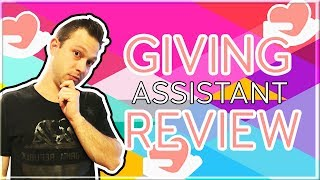 giving Assistant Review - How Does Giving Assistant Work For Cashback Vs Befrugal Vs TopCashBack