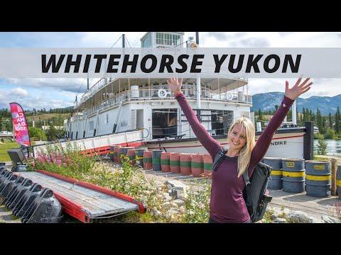 Exploring Whitehorse, Yukon