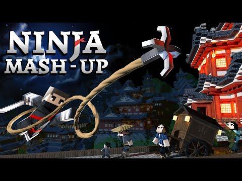 Ninja Mash-up - Minecraft Marketplace Map Trailer