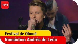 Festival del Huaso de Olmué | Puro romance en brillante show de Andrés de León