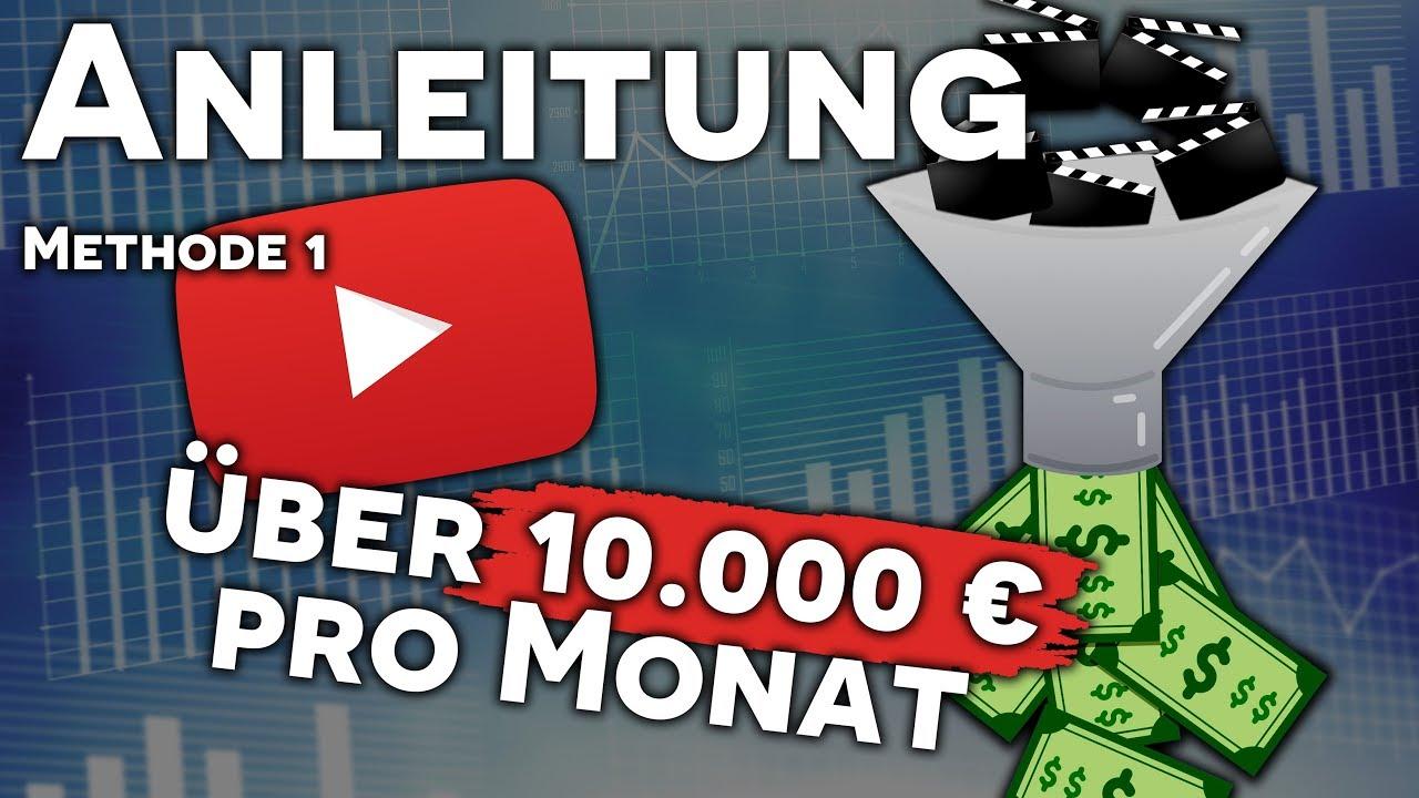 geld verdienen mit youtube videos anschauen