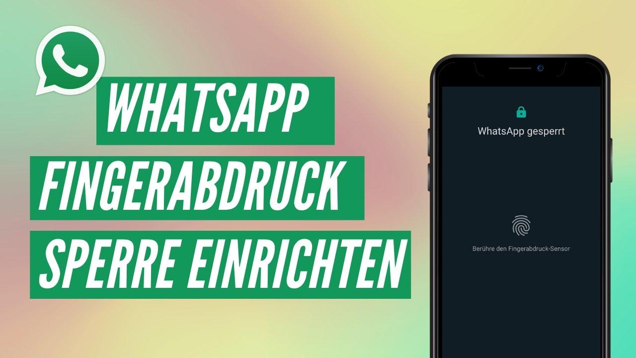 Whatsapp Sperre