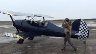 Самодельный самолет(Самолет самостоятельной сборки биплан Шершень., 2016-06-09T20:35:22.000Z)