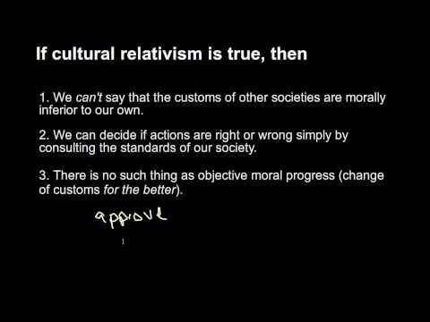 8b Cultural Relativism - argument for and against
