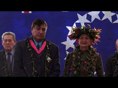 Cook Islands' newest knight Sir Tom Marsters
