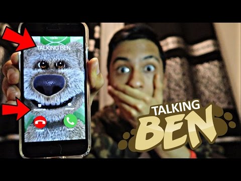 TALKING BEN CALLED ME AND I *ANSWERED OMG*