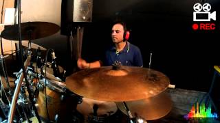 Cheb Khaled - Aicha drum cover by giangydrum
