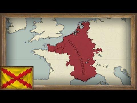 EU4 - Timelapse - MEIOU and Taxes 2.0 - Kingdom of Lotharingia