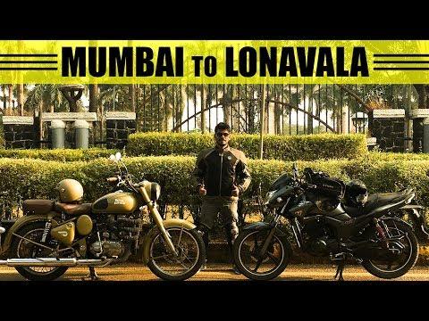 Mumbai to Lonavala   Breakfast Ride-1   Royal Enfield Desert Storm 500, Hero Hunk 150