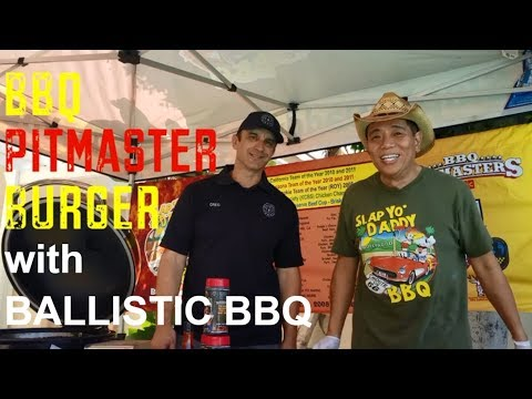 Ballistic BBQ Pitmaster Burger How-to Greg Mrvich Harry Soo Tasty Charcoal Barbeque Recipes