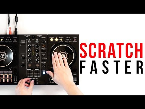 How to Flare Scratch by a DJ CHAMP!