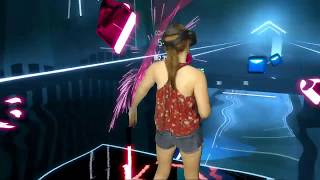 Beat Saber || Sweet But Psycho by Ava Max || Mixed Reality