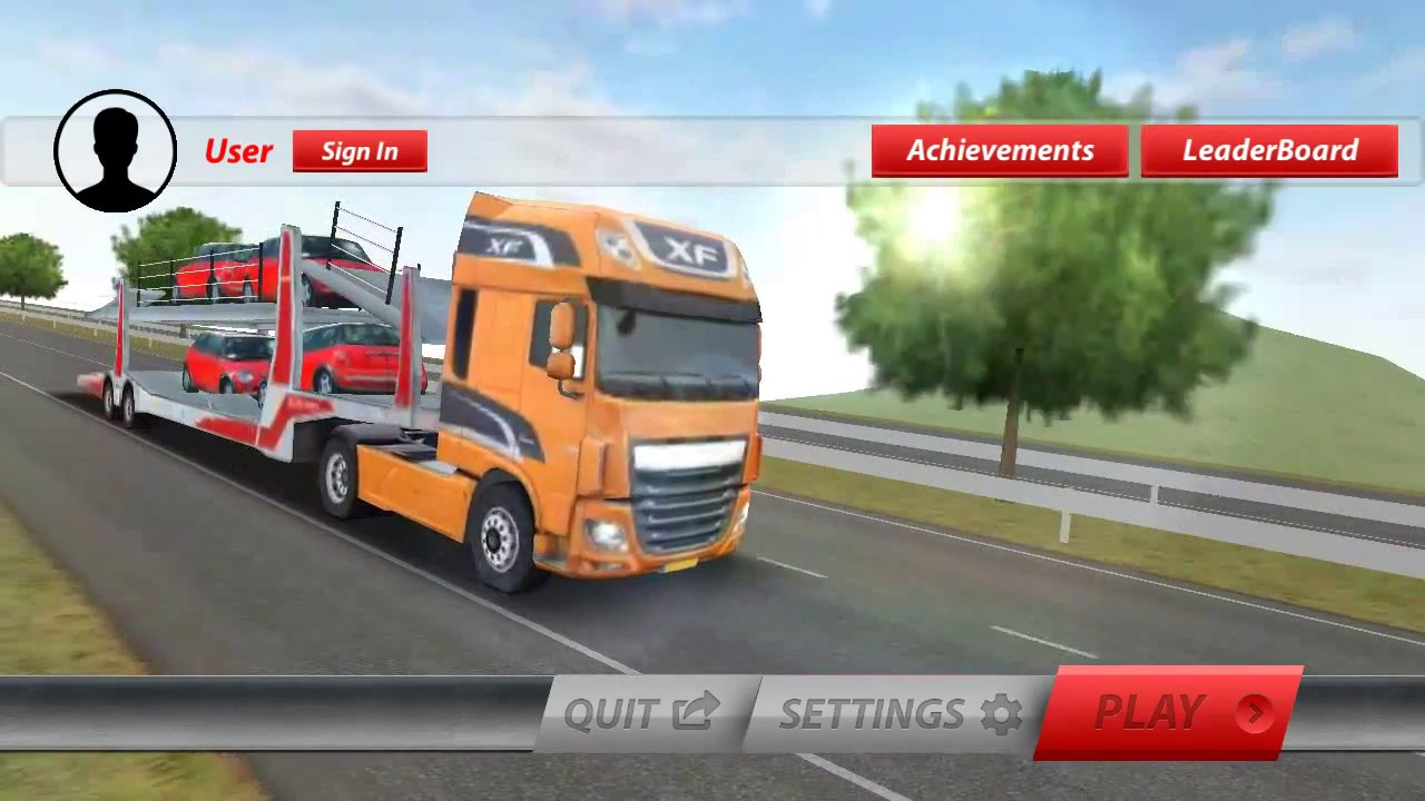 Truck Simulator Android Gameplay - Truck Simulator Games Free Download For  Android