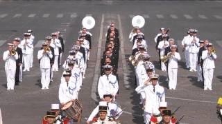 Musique des Equipages de la Flotte 14 Juillet à Paris