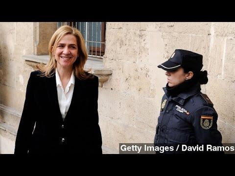 Spain's Princess Cristina To Face Unprecedented Fraud Trial