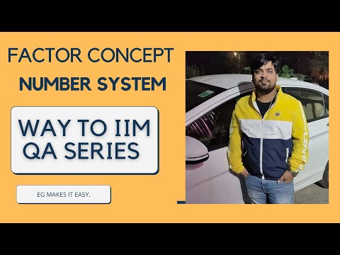 NUMBER SYSTEM - FACTOR CONCEPT FOR CAT 2020