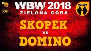 bitwa SKOPEK vs DOMINO # WBW 2018 Zielona Góra (1/8) # freestyle battle