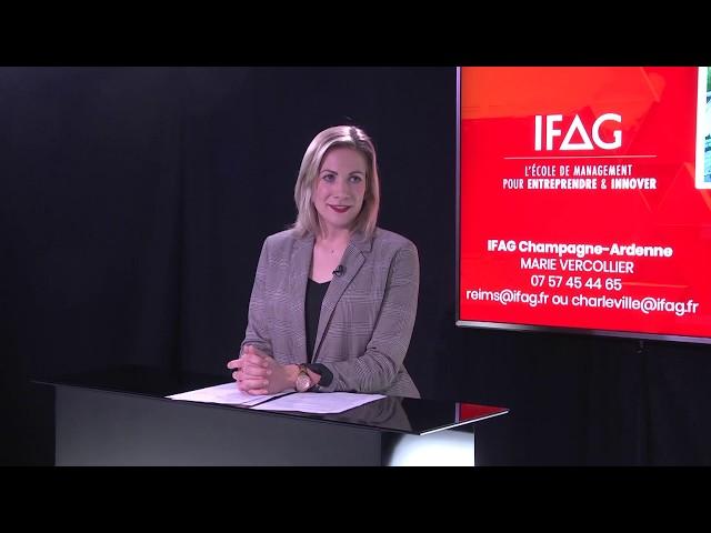 WEBINAR IFAG Campus de Charleville-Mézières - Focus BACHELOR