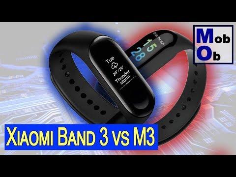 Xiaomi Mi Band 3 vs M3
