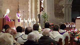 Missa Exequial Mn. F. Xavier Parés, Degà del Capítol de la Catedral
